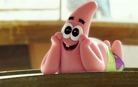 gambar patrick star spongebob ekspresi lucu bodoh