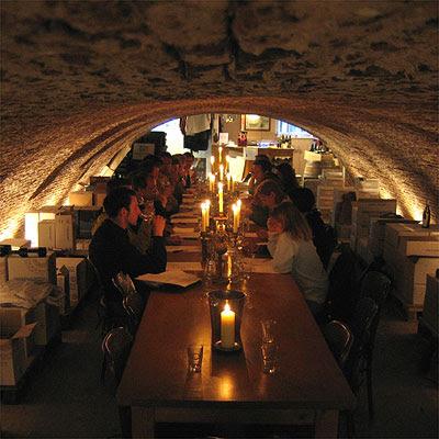 wine tasting in the Corvershof