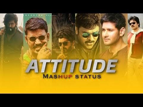 😎💪Best Mix Telugu Heroes Attitude Whatsapp Status Video Download😎💥