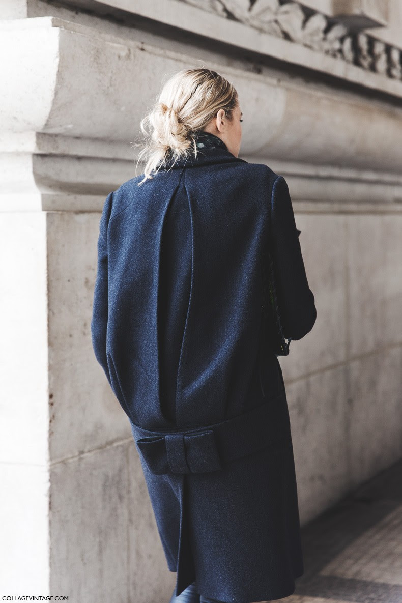 Paris_Fashion_Week-Fall_Winter_2015-Street_Style-PFW-Coat-Bow_Detail-