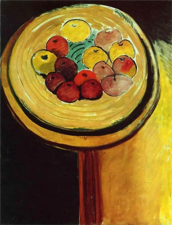 matisse - apples Art History for kids • Artchoo.com