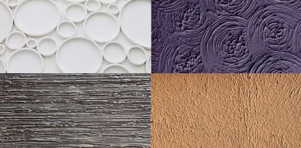 Teknik finishing plester dinding atau Stucco Pattern
