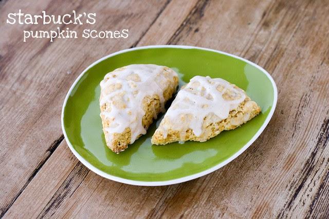 Starbuck's Pumpkin Scones