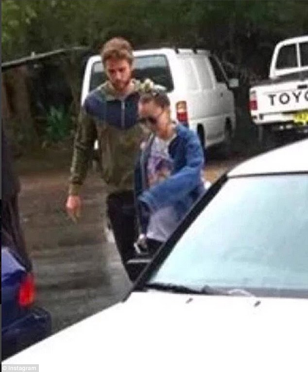 An item? Miley Cyrus were spotted enjoying The Falls Music Festival together in Australia's Byron Bay on Sunday - pictures surfaced on the pair on Instagram