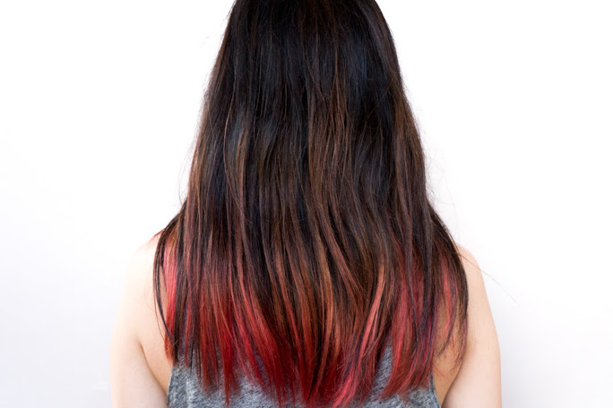 We Tried the Popular 3CE Treatment Hair Tint That Dyes Your Hair For a Week