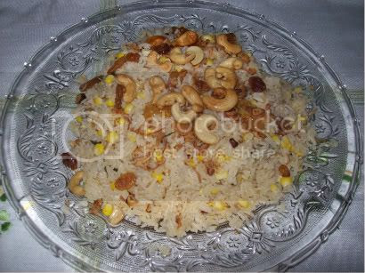 Nasi Minyak Jagung (Corn Rice)