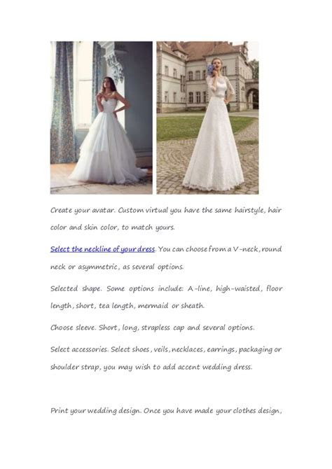 How to design your own wedding dress online gbridal