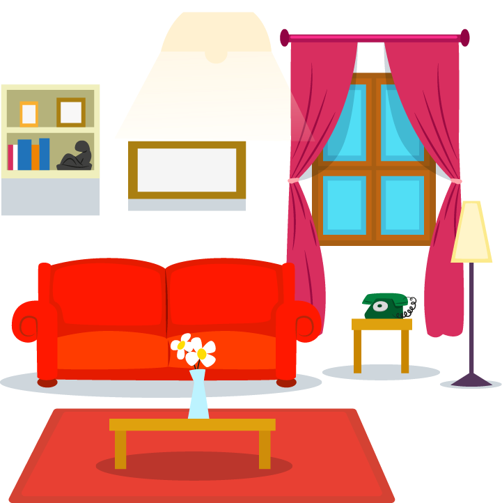 Living Room Drawing Room | Free download on ClipArtMag