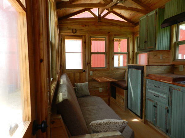 Fifth Wheel Tiny House on Wheels by Mississippi Tiny House