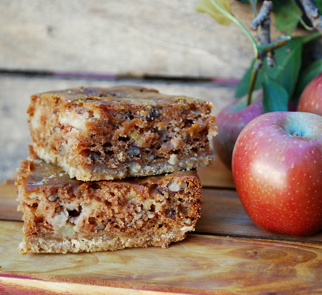 Sour Cream Apple Squares 1