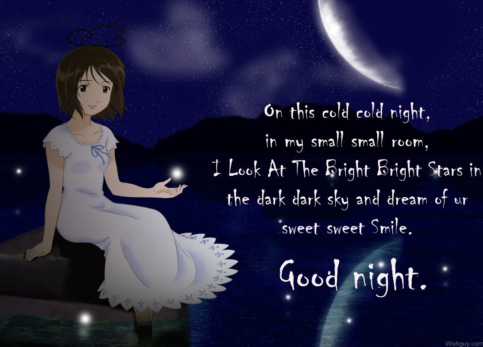 Good Night My Sweet Dear Friend Wishes Greetings Pictures Wish Guy