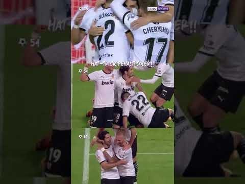 Hattrick Penalti Soler ke Gawang Real Madrid