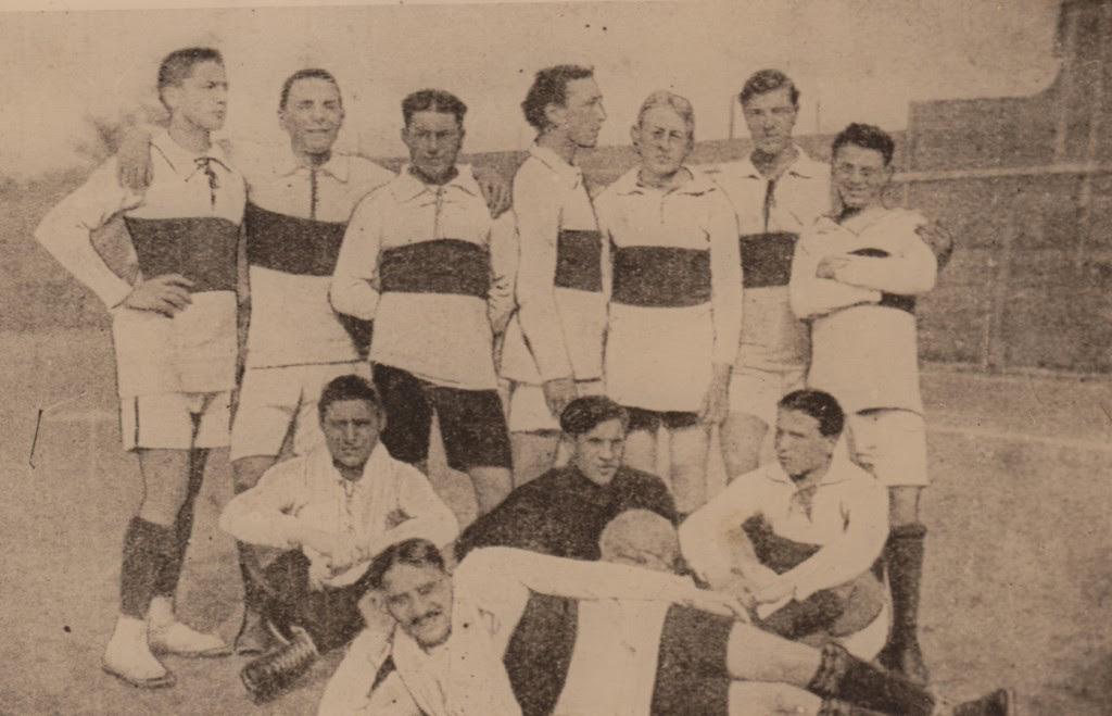 La Jucunditas nella formazione sconfitta 2-1 dall'Audax il 19 aprile 1914. Con quella sconfitta l'Audax perse il campionato emiliano di Promozione.