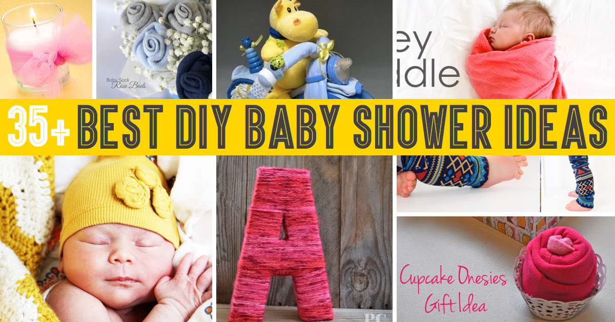 35 Diy Baby Shower Ideas Everyone Needs To Know About Cute Diy