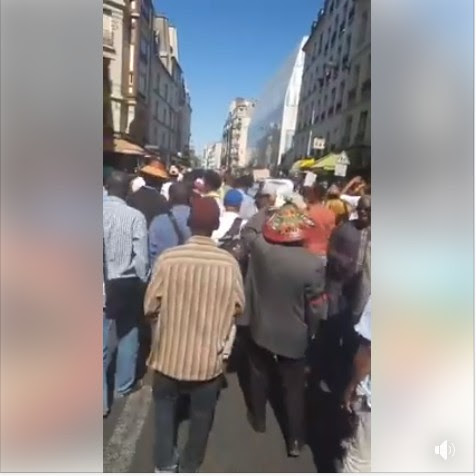 Fulanis Hold Massive Protest In Paris Against Killing Of Their People (Photos)