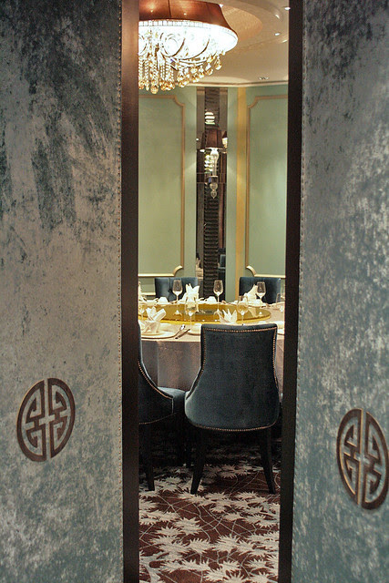 Private dining room at Paradise Pavilion