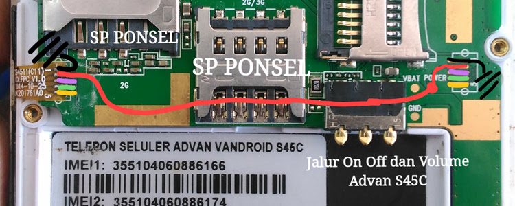 Harga Advan Star Fit S45C Volume Up Down Keys Not Working Problem Solution Jumpers