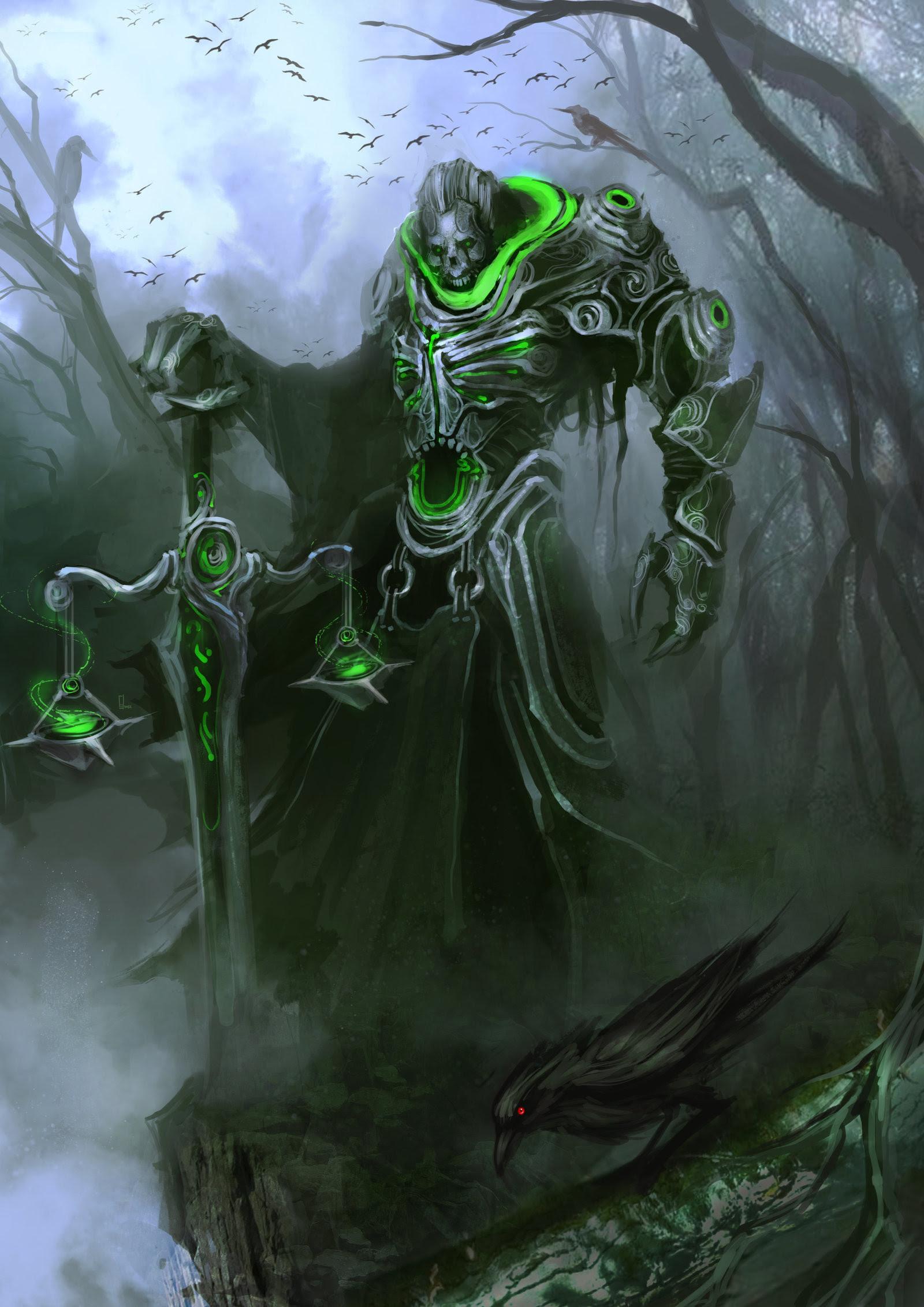 Darksiders War And Death Wallpaper