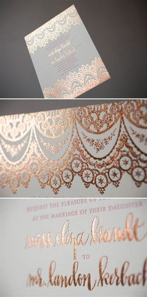 Best 25  Gold wedding invitations ideas on Pinterest