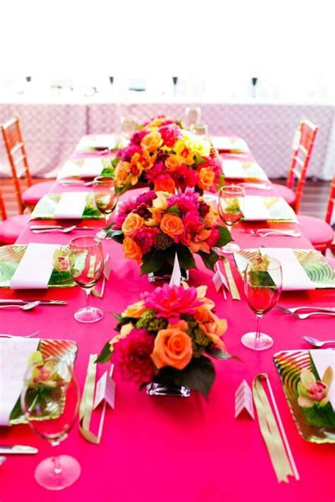 Hot Pink ? The Hottest Colour for Weddings ? South African