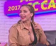 Luciana Abreu com um decote muito sensual no Curto Circuito @ 1920x1080