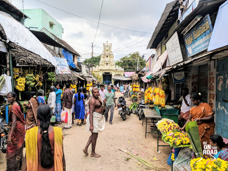 A colorful and traditional Pongal shopping moment from Kallidaikurichi, Tamil Nadu