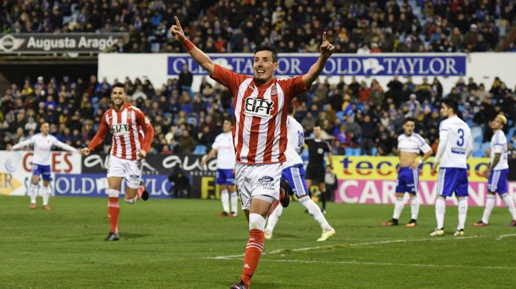 El Girona es va imposar a la primera volta per 0-2 al Saragossa. Girona FC