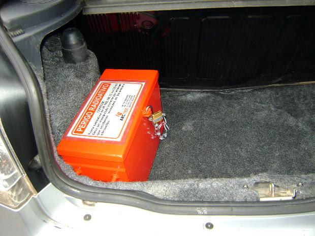 Imagem caixa metálica  (Foto: Divulgação/Arc Test)