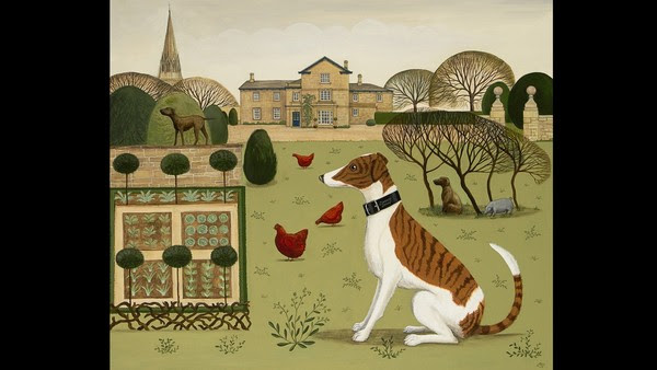Painting by Catriona Hall, Old Vicarage, signed with artist's monogram, £600 - 800