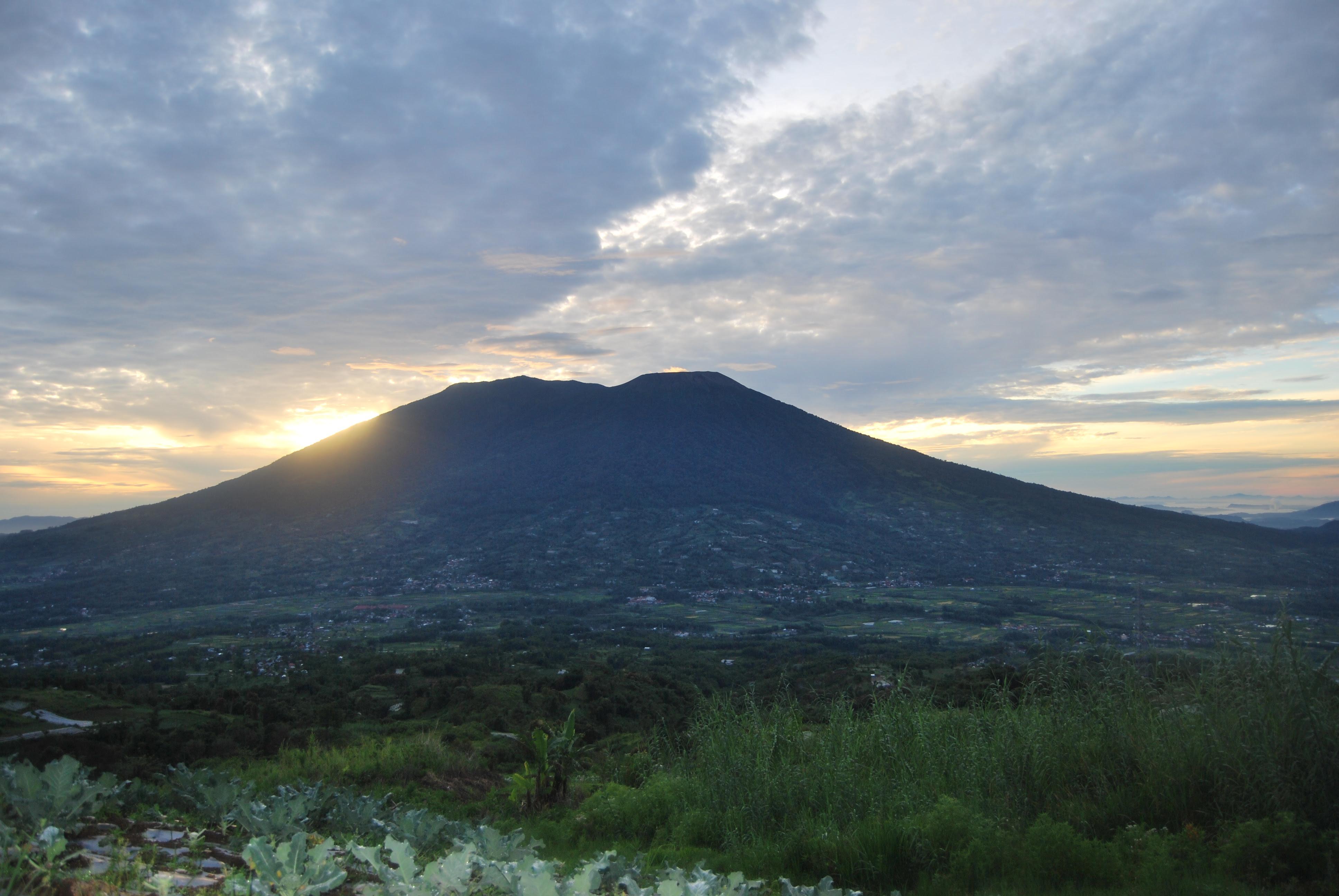 Gunung Marapi Pesona Cadas Dan Taman Edelweis Langiteduh