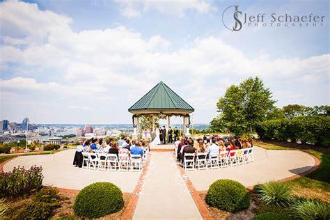 Drees Pavilion wedding Devou Park Covington photographs