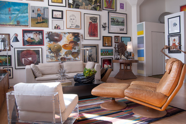 Stacy Weiss: Shadyside, Pennsylvania - eclectic - living room ...