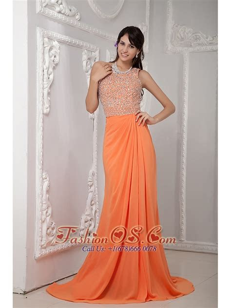 Orange Long Elegant Dresses Other dresses dressesss