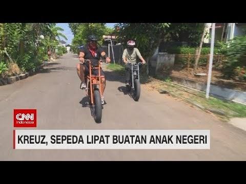 Kreuz, Sepeda Lipat Berkualitas Karya Anak Bangsa