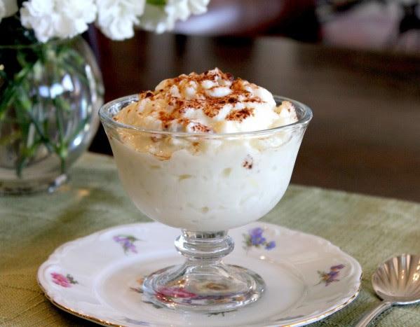 Dessert Recipes - Aunt Rosalie's Famous Rice Pudding