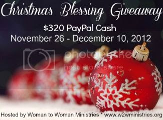 Christmas Blessing Giveaway