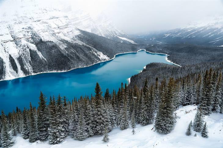 paisagens da américa do norte