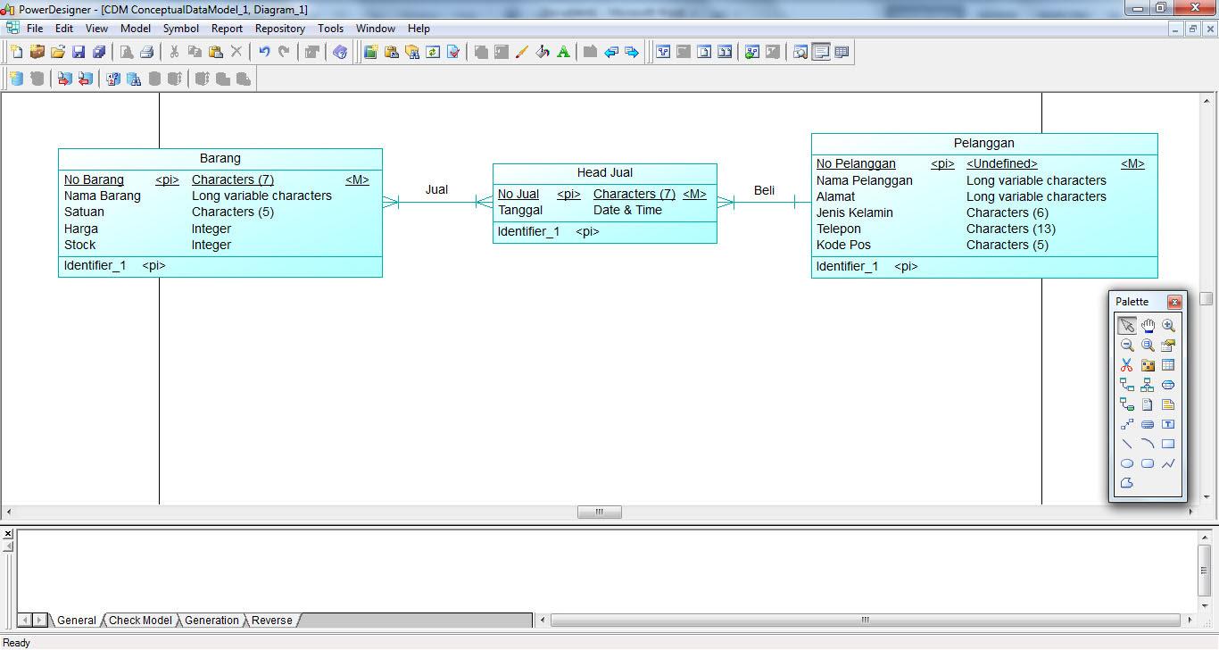 Contoh Database Pelanggan - Contoh 0917