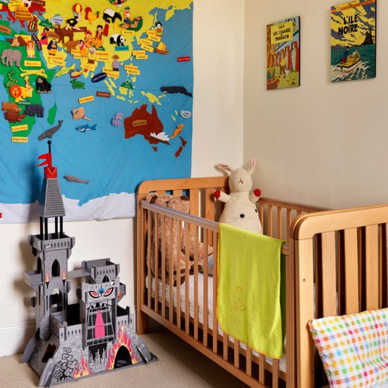 Educational children's room | Map | Bedroom idea | Modern | Image | Housetohome