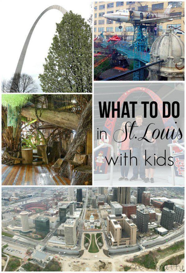 st louis arch, children's museum, city museum, st louis cardinals