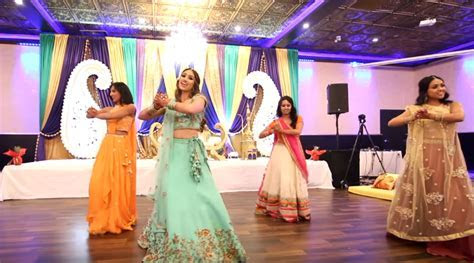 VIDEO: This bride?s sangeet performance on Bollywood songs