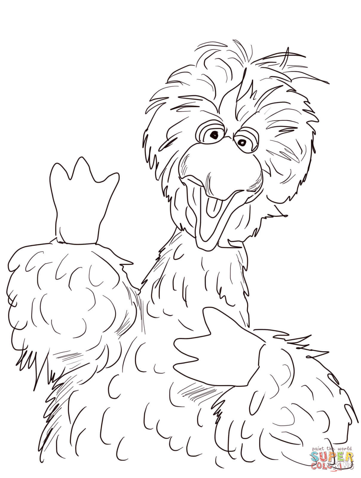 650 Large Bird Coloring Pages For Free