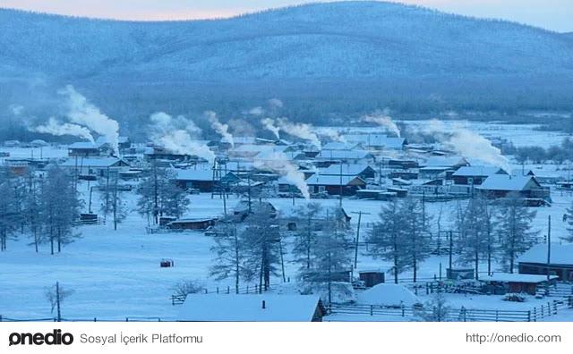 En Soğuk Yerleşim Yeri - Oymkyakon, Rusya