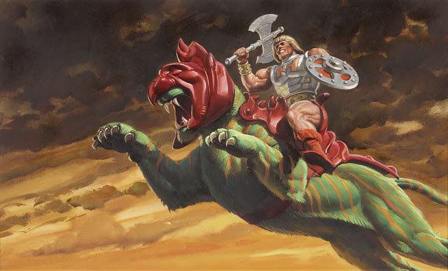 Masters Of The Universe - 30 (painting by William George)