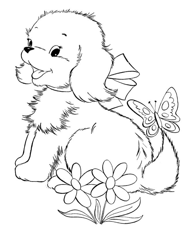 Puppy Coloring Pages | Puppy coloring pages, Love coloring pages ... | 820x670