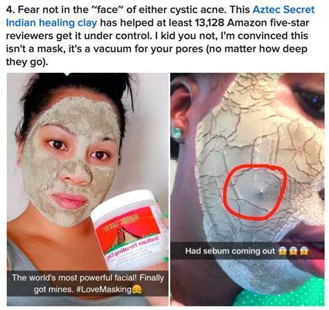 Indian Healing Clay mask, amazon face mask, best face mask