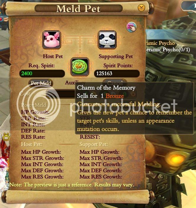 Pet Meld Charm