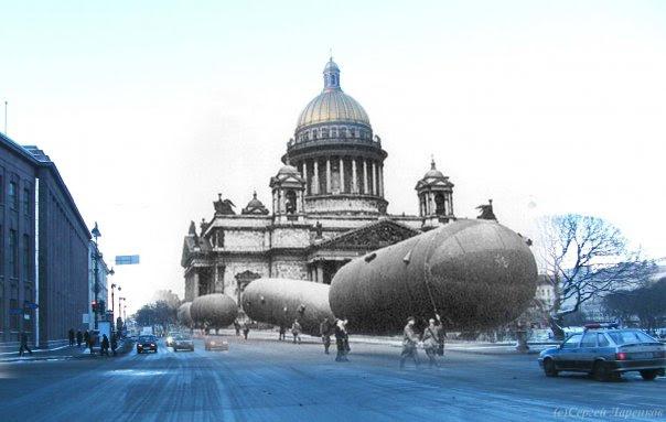 Siege of Leningrad, Russia 9