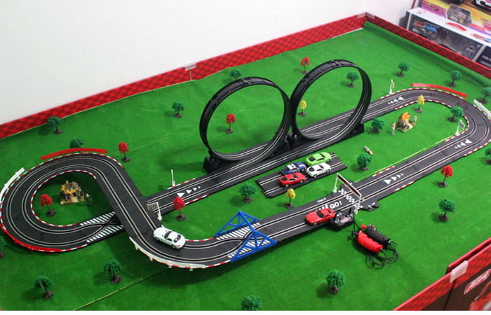 Carrera GO!!! DTM Master Class Electric Powered Slot Car Racing Kids Toy Race Track Set Includes 2 Hand Controllers and 2 DTM Cars in Scale out of 5 stars $ - $ #2.Joysway Super USB Power Slot Car Racing Set out of 5 stars $