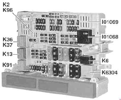 05 10 Bmw 3 E90 E91 E92 E93 Fuse Diagram